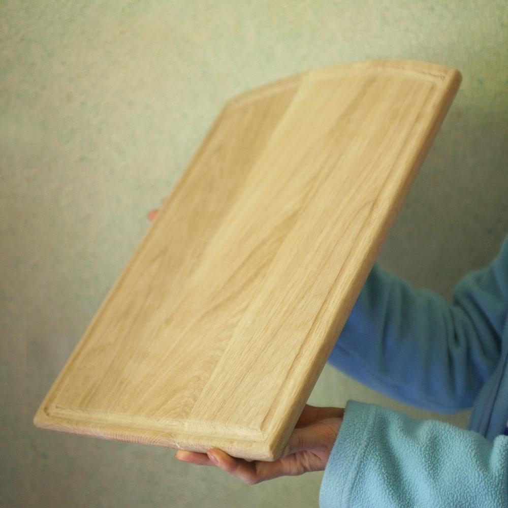 Кухонная доска из древесины дуба